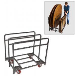 Folding Chair & Table Carts for Transport & Storage