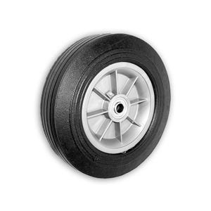 10in. Solid Rubber Wheel with Axle Bore Equipment Repair Parts 329W