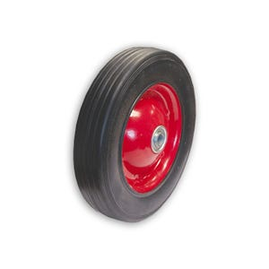 8in. Hard Rubber Wheel with Axle Bore Equipment Repair Parts 330W