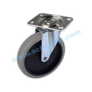 5in Diameter Popular Utility Cart Replacement Swivel Caster 354PT