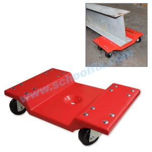 Heavy Duty Furniture Mover PVC Coated 4-Wheel Mover Jack 82JJ
