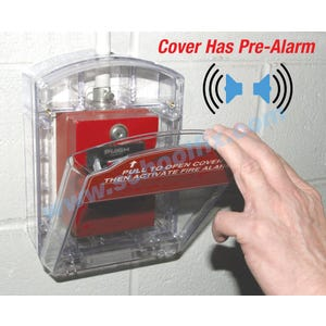 Cover Alarm Option for AP343