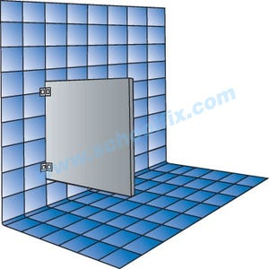 Part No. PLU1842, PLU1848, PLU2442, PLU2448 Plastic Laminate Privacy Panels
