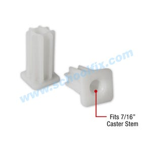 Square Plastic Replacement Sockets