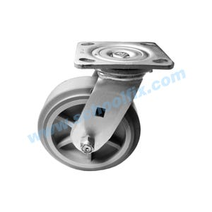 Heavy-Duty Plate Top Casters