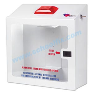Phillips On-Site Surface Mounted Defibrillator Cabinet Part No. DF11