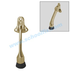 4in Brass Kick Down Door Holder Door Stopper DH100