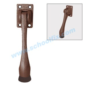 5in Dark Brown Kick Down Door Holder Door Stopper DH168