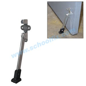 Super Duty 6in Kick Down Door Holder Steel Door Stopper with Rubber Shoe DH506