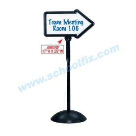 Dry Erase Directional Arrow Sign