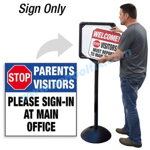 Stop Parents Please Sign In At Main Office