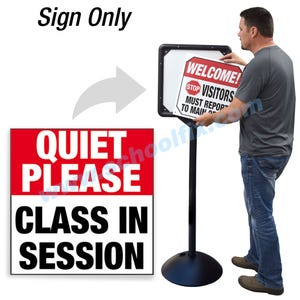 Quiet Please Class In Session for DS7