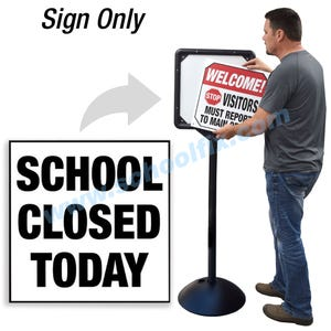 School Closed Today for DS7