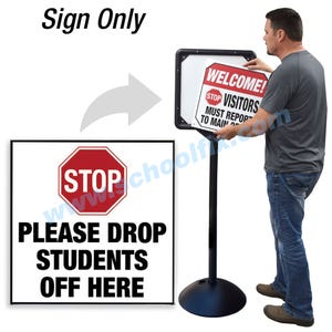 Stop Please Drop Students Off Here for DS7