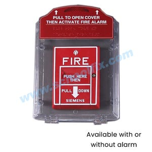 Universal Pull Station Cover - Fire Alarm Plastic Guard
