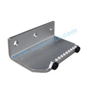 Aluminum Foot Operated Door Pull Part No. FDP4