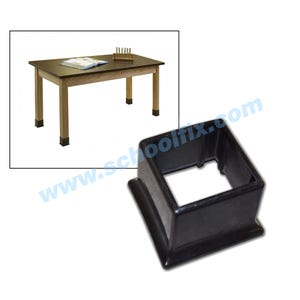 Science Table Replacement Square Glide 2-1/2in. x 2-1/2in.