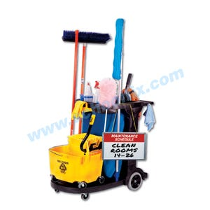 Compact Janitorial Cart