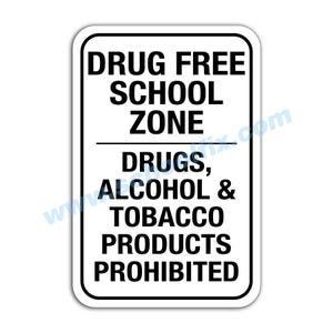 Drug Free School Zone Drugs E8 M732