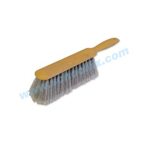 13in Long Heavy Duty Plastic Counter Scrub Brush with Handle MK4