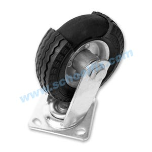 Never-Flat Ties Large Capacity Heavy Duty Casters Repair Parts