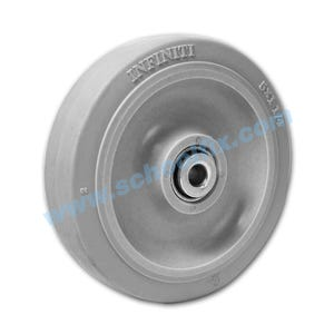 Non-Marking Soft Rubber Wheel Casters Equipment Repair Parts