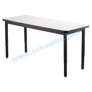 High Pressure Laminate Top Tables without Casters