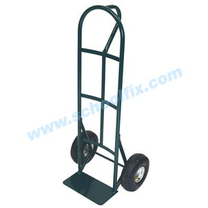 Traditional P Handle Heavy Duty Dolly Steel Hand Truck