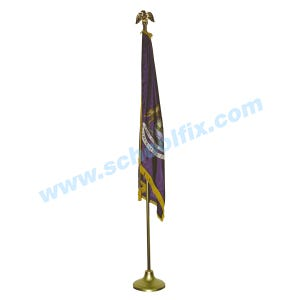 5 X 8 Foot State Flag Display Set