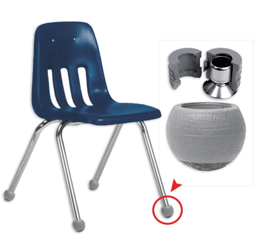 Q-Ball Renewal Glides  sc 1 st  School Fix Catalog & Popular Chair Leg Floor Protectors - School Fix Catalog