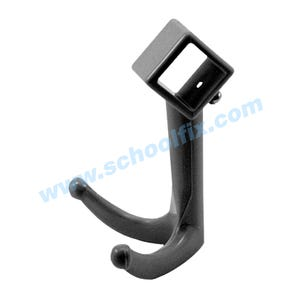 Replacement Coat Rack Hook for Square Tubing Coat Hanger