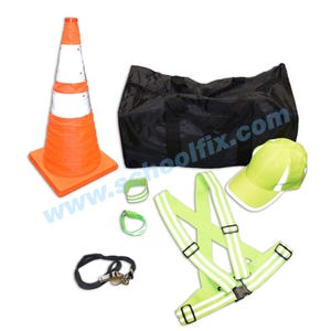 Reflective Safety Kit or Crossing Guard Equipment Bundle SC48