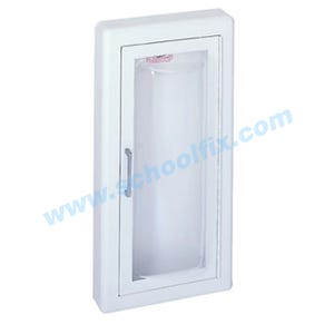 Semi-Recessed Fire Extinguisher Cabinet