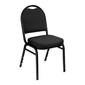 Stack Chair by National Public Seating with Fabric Padded Seat