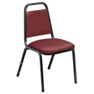National Public Seating Vinyl Padded Stacking Chair