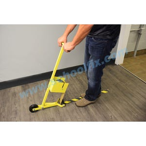 Floor Tape Laying Tool