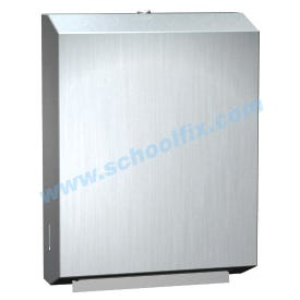 Stainless Steel C-Fold Towel Dispenser