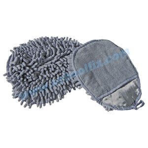 Microfiber 2 Sided Hand Duster Mitten
