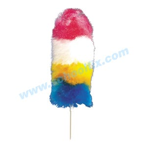 24in Long Poly Fiber Duster with Plastic Handle Machine Washable VX3
