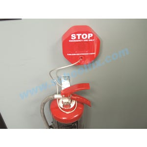 Fire Extinguisher Alarm With Cable