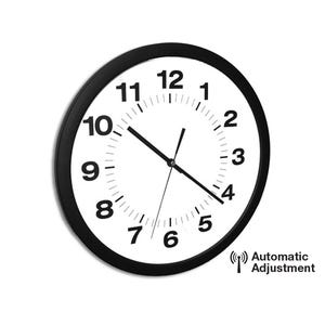 14in. X-Wave Auto Adjusting Atomic With Optional Quartz Operation Wall Clocks X72