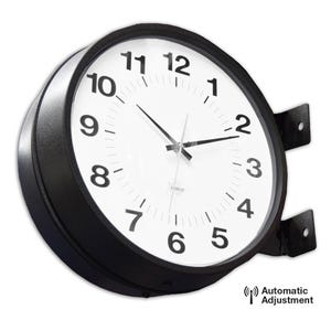 16in. Double Faced Atomic Clock
