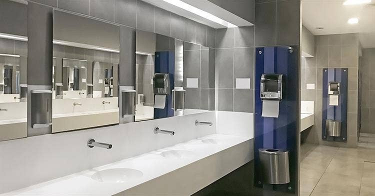 No-Touch Restrooms: Take Care of Business without Dirtying Hands