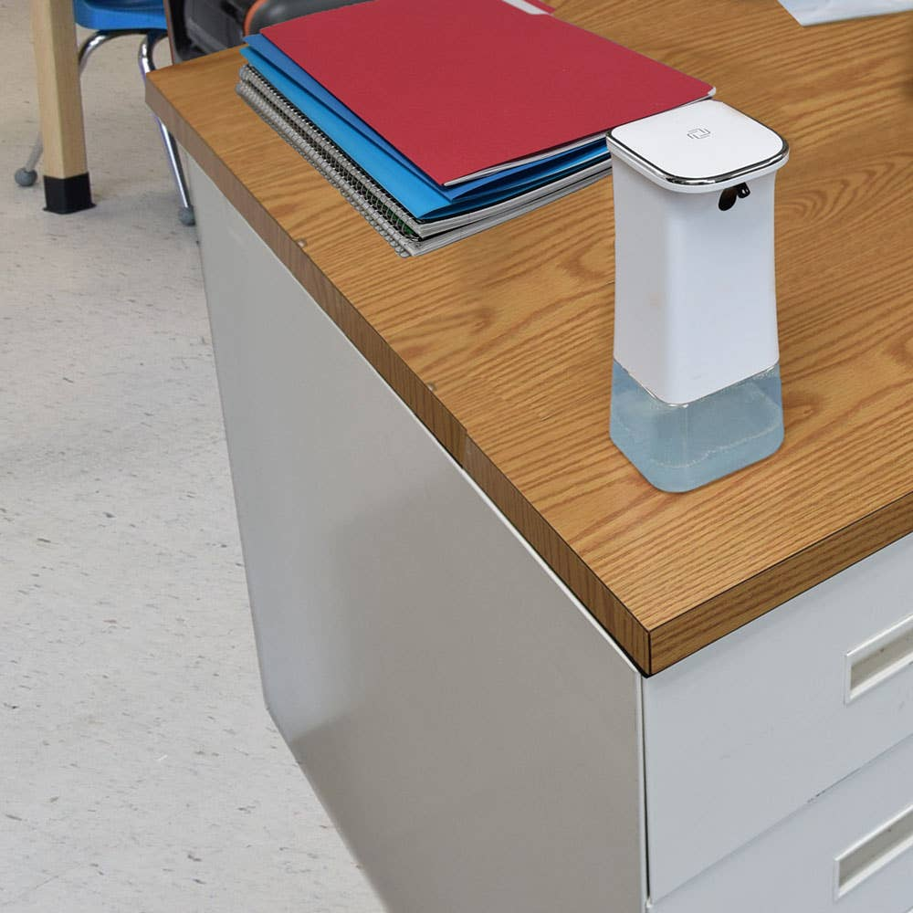 Refillable Tabletop Automatic Foam Hand Sanitizer Dispenser