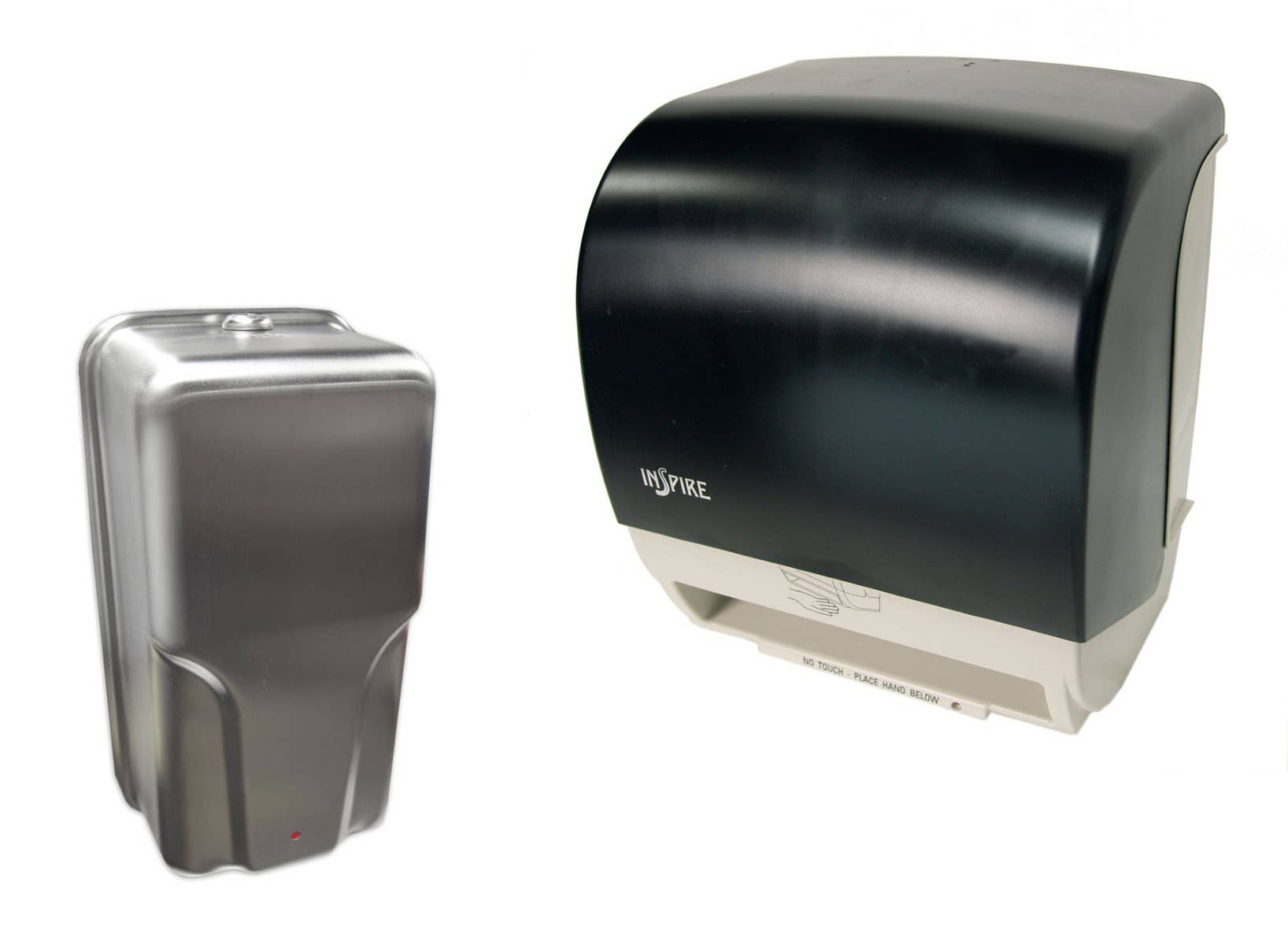 Hands-Free No-Touch Restroom Dispensers for Soap & Paper Towels