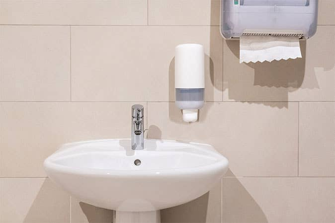 Make Your Restroom Hands-Free with Touchless Restroom Accessories