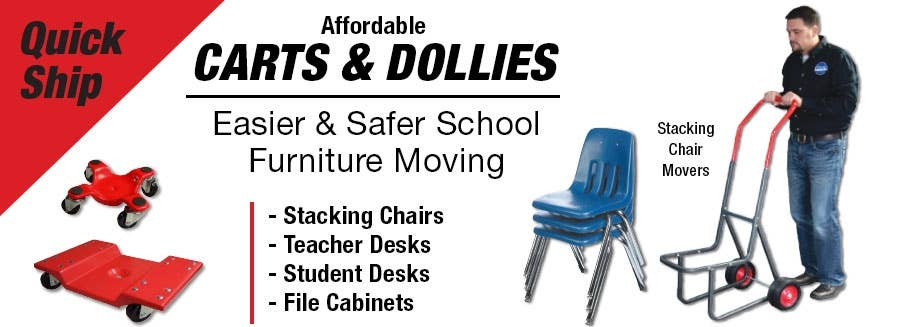Affordable Carts & Dollies for Easier School Maintenance