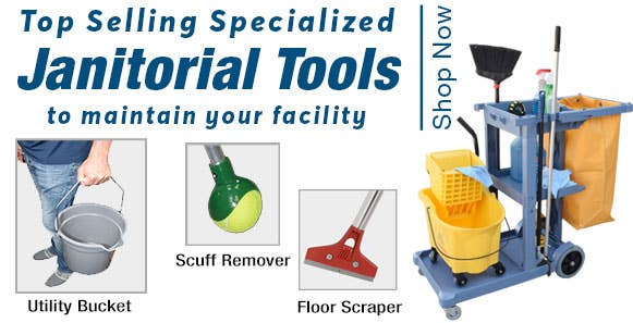 Specialized Janitorial Tools that are a Must-Have for Any School Janitorial Team