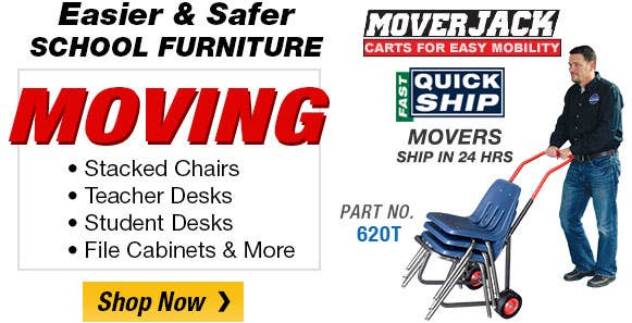 Make Moving School Furniture Easier & Safer with Moving Equipment