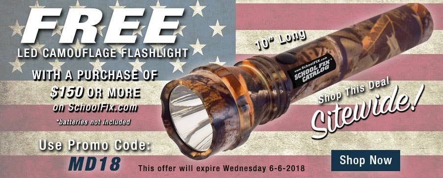 Don't Get Left in the Dark: Get Your FREE Flashlight Today